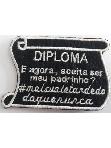 Diploma E Agora Aceita Ser...