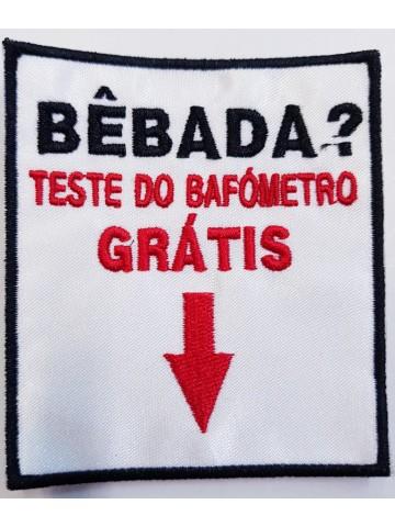 Bêbada Teste Do Bafómetro...