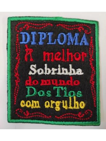 Diploma à melhor sobrinha...